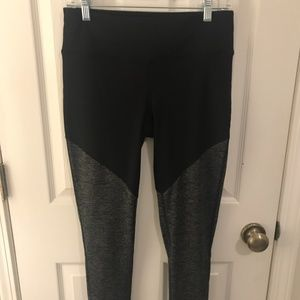 Full-length Color Blocked Leggings